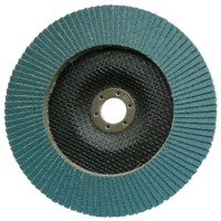 RauhcoFlex Flap Disc 180mm x 22.23mm Zirconium 40 Grit ( Pack of 10 )